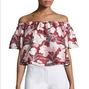 Keepsake off the shoulder floral top